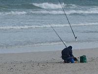 Fishing at Uilenkraalsmond
